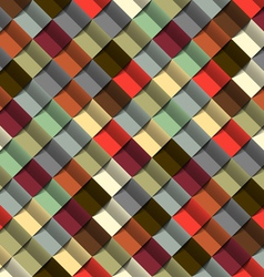 abstract geometric structure vector image vector image