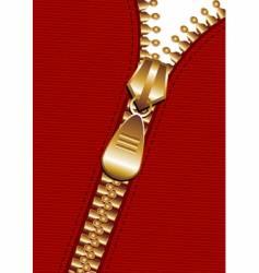 zipper background vector image vector image