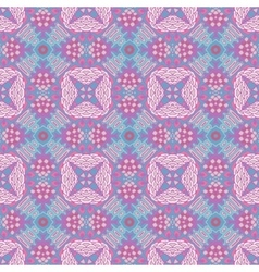 Abstract vintage seamless pattern ornamental vector image