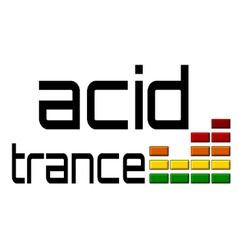 Acid Trance DJ equalizer dance music volume alpha vector image