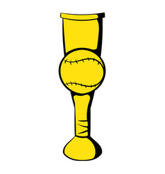 Baseball trophy cup icon icon cartoon vector