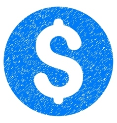 Coin Grainy Texture Icon vector