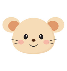 Cute bamouse or color vector