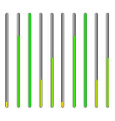 eq - equalizer or generic level indicator ui vector image