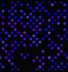 geometrical pentagram star pattern - background vector image