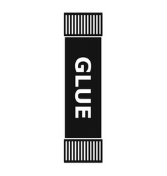 glue stick icon simple style vector image