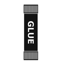 Glue stick icon simple style vector