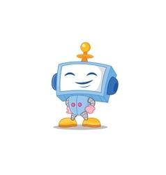 Happy Robot vector