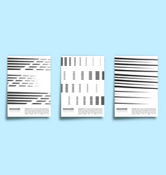 set line design background for banner flyer vector image