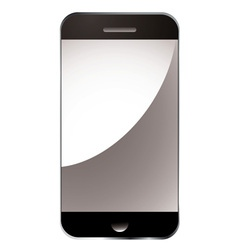modern smart phone vector image