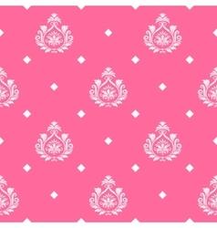 princess seamless background vector image
