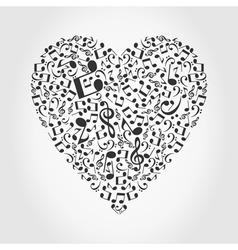 love music vector image vector image
