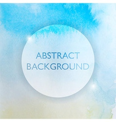 Abstract Watercolor Blue and Yellow Background vector