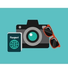 Best travel isolated icons vector