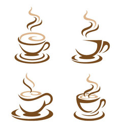 Coffee Icon Logo Template icon design vector