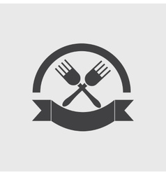 Eatery symbol vector