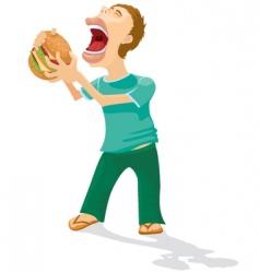 eating men vector image