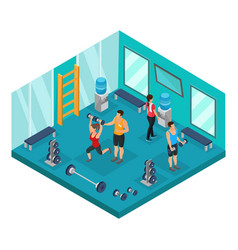 Isometric individual training concept vector