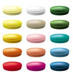 Pills tablets vector