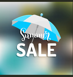 summer sale background season discount vector image