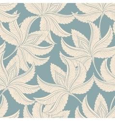 Vintage gentle pattern vector image vector image
