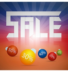 sale bg vector image vector image