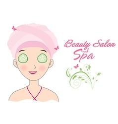 Beauty salon and spa vector