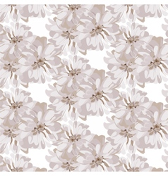 Chamomile pattern background vector