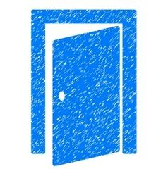 Door Grainy Texture Icon vector