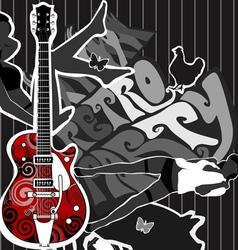 Guitar party vector