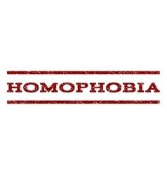 Homophobia Watermark Stamp vector image
