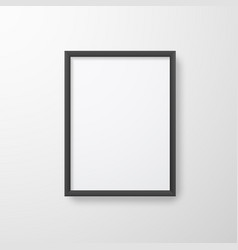 photo frame for picture poster or photo picture vector image
