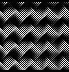 Seamless monochrome geometrical dot pattern vector