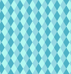 Blue rhombus seamless retro pattern vector image vector image