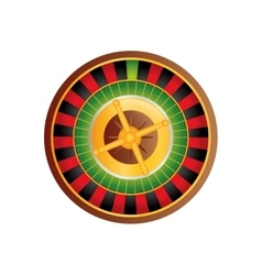 Casino Roulette game vector