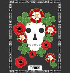 Death card vector