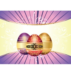 Decorative Easter Background vector