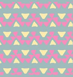 Ethnic pattern aztec geometric background vector