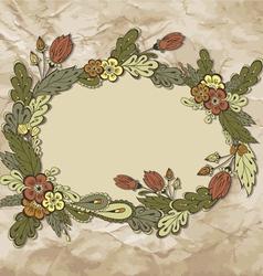FloralFrame01 vector