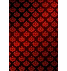 illustration of red wallpaper vector image