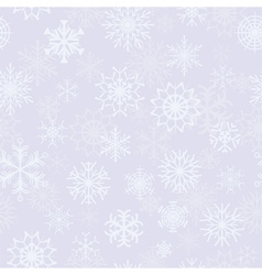 light blue background seamless with snowflakes vector image