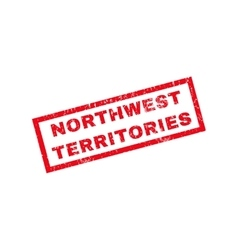 Northwest Territories Rubber Stamp vector