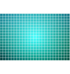 Turquoise shades square mosaic background over vector