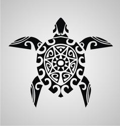 Tribal turtle vector