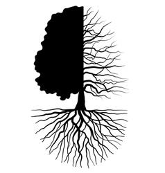 Tree concept vector image vector image