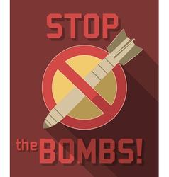Antibomb vector