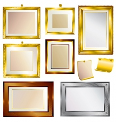 beautiful frames vector image