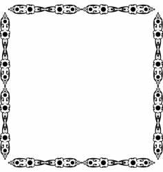 beauty design frame vector image vector image