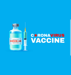Coronavirus 2019-ncov vaccile stop vector