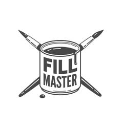 fill master vector image